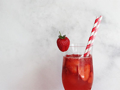 Strawberry Sweetheart Valentine's Day Drink | For the Glitz