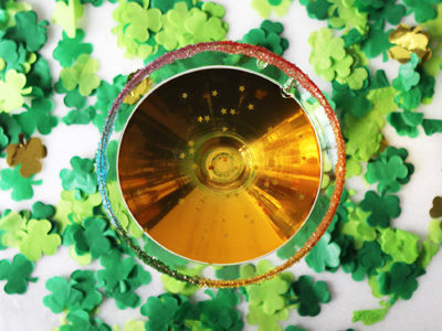 Pot O' Gold Cocktail   For the Glitz
