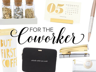 For the Coworker | Gift Guides 2016 | For the Glitz